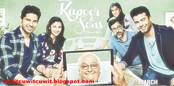 kapoor and sons film bollywood film india terbaru terbaik dan terpopuler 2016