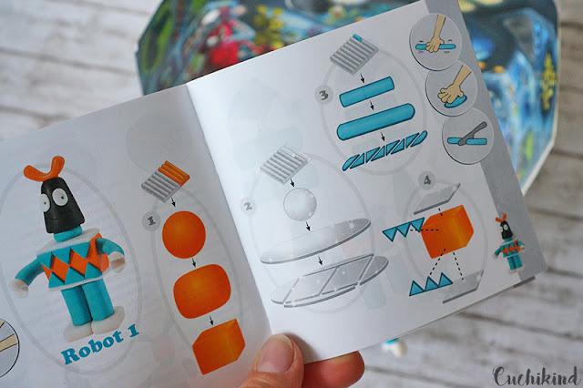 Anleitung Roboter aus Fimo