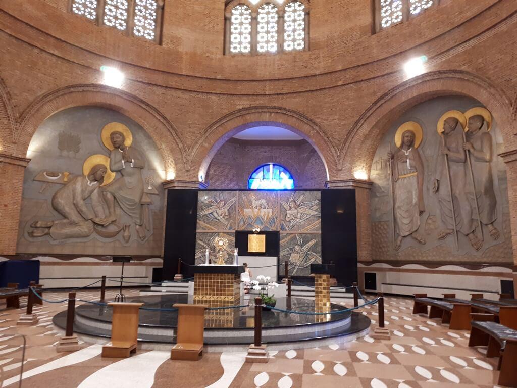 Capela do Santíssimo no Santuário Nacional de Aparecida
