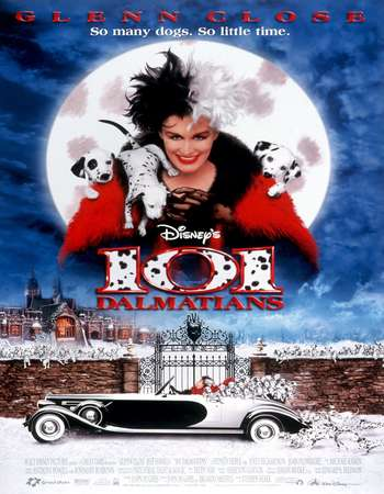 101 Dalmatians 1996 English 450MB BluRay 720p ESubs HEVC Free Download Watch Online Downloadhub.in