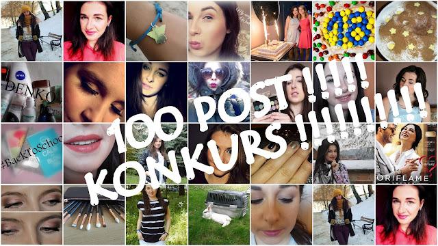 100 POSTÓW !!!!! ✸✔♛❤ pierwszy KONKURS na blogu właśnie z tej okazji !!!!
