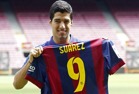 Luis Suarez là 1 trong 10 chân sút vĩ đại nhất Barca.