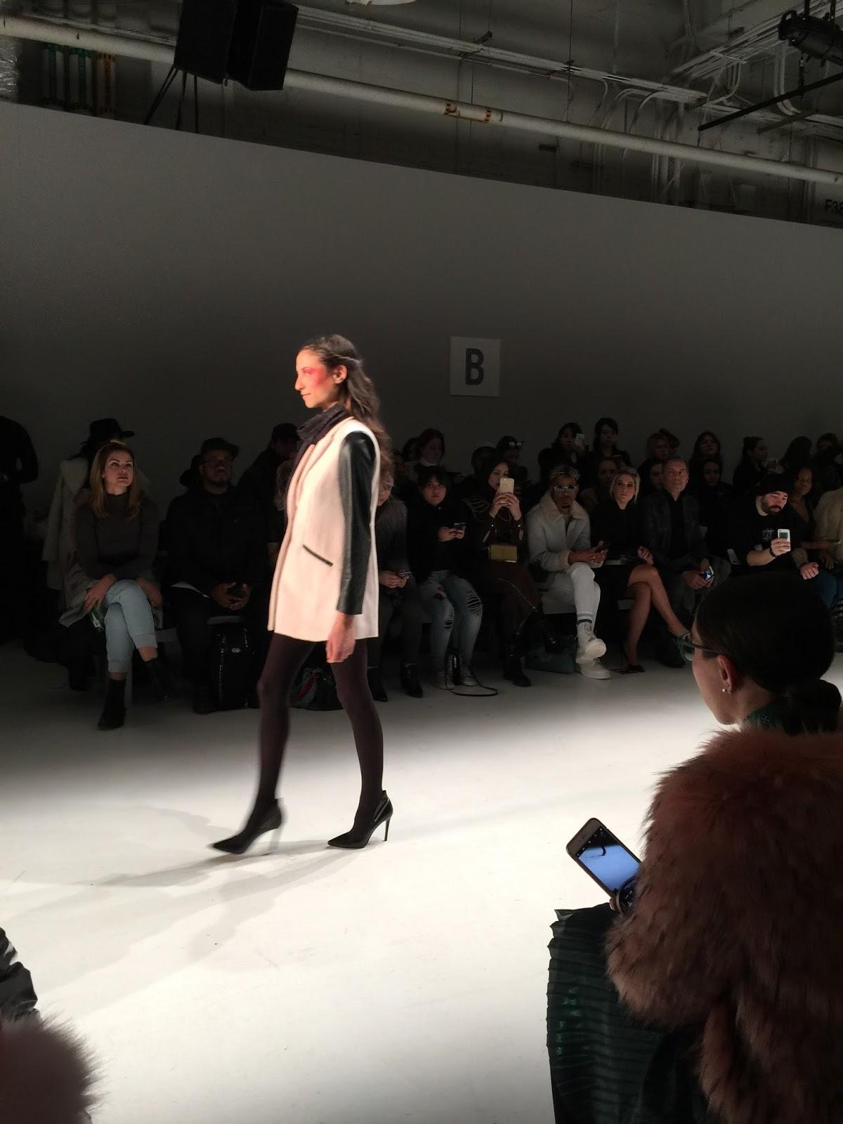 nyfw, fashion week, pink coat, faux fur, pink faux fur coat, Dan Liu, nyfw 2017