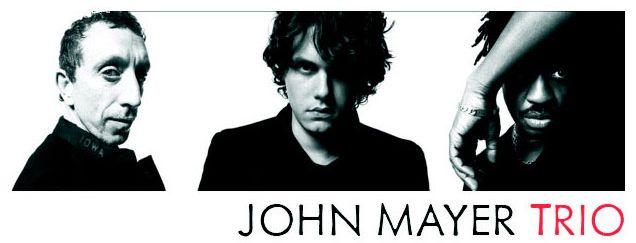 John Mayer Trio Banda Grupo