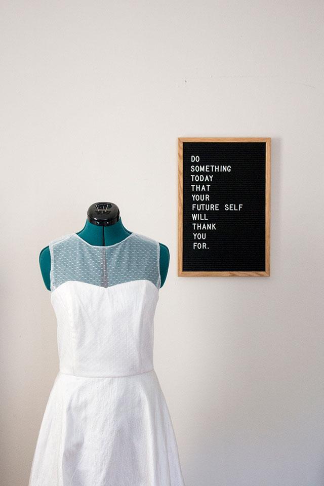 DIY Wedding Dress, Chapter 4