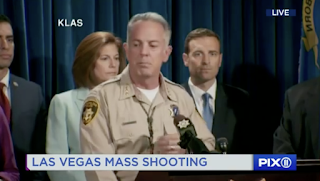 Las Vegas shooting suspect's girlfriend is 'person of interest', says sheriff