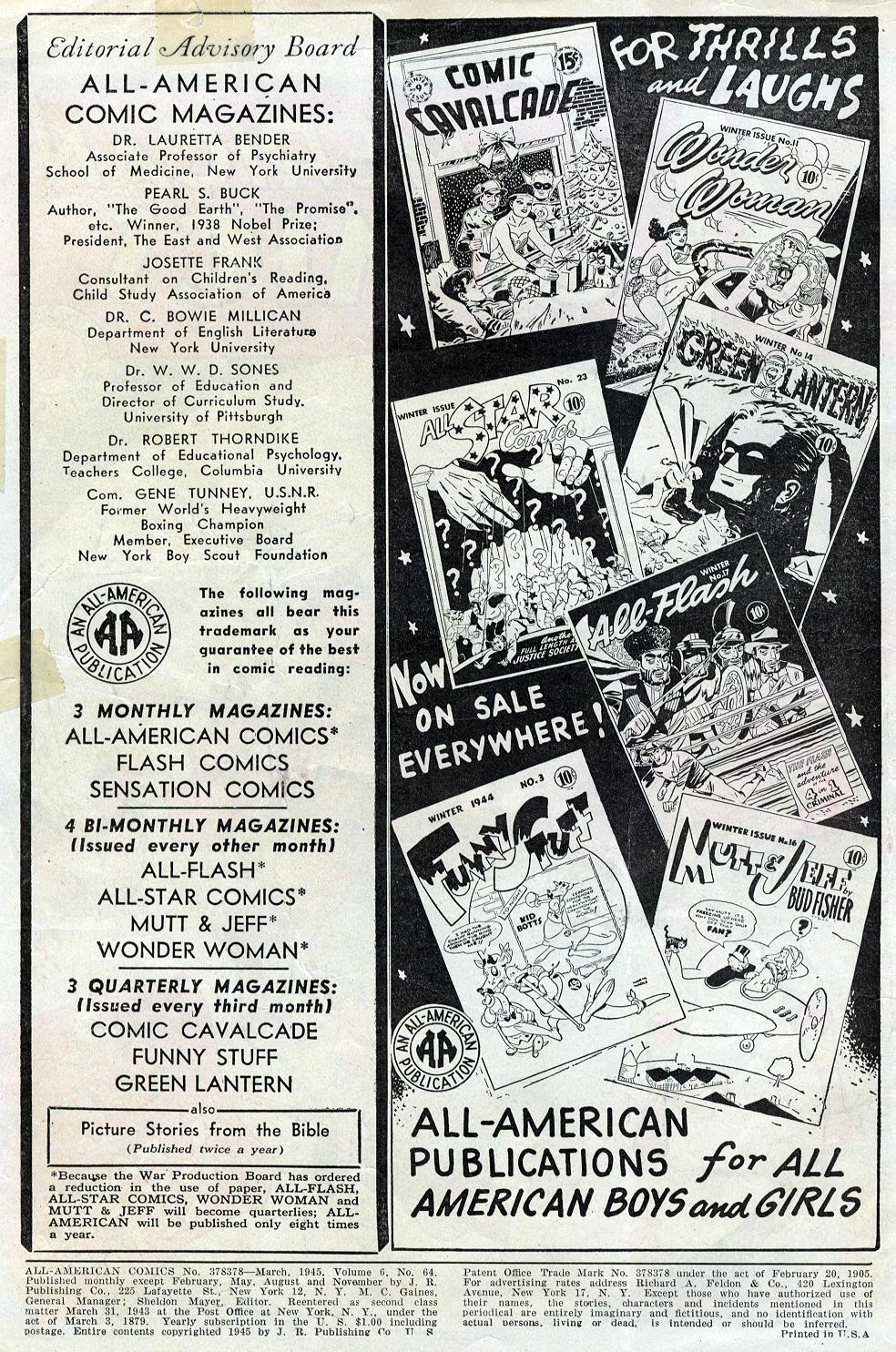 Read online All-American Comics (1939) comic -  Issue #64 - 2