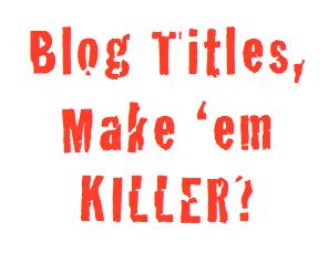 point penting ketika membuat judul artikel postingan