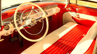 1956 Pontiac Star Chief Convertible Interior