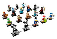 LEGO Disney Series 2 Minifigures Complete Set of 18 SEALED 71024