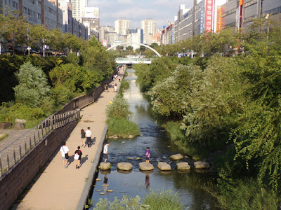 cheonggyecheon seul
