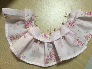 How to sew a skirt for doll clothes