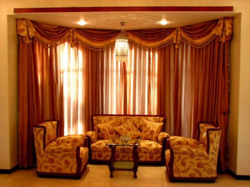 Living Room Curtain Modern Ideas