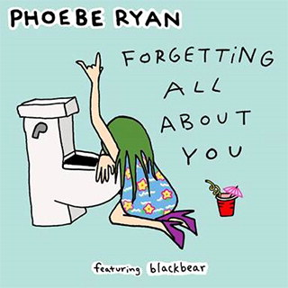 "PHOEBE RYAN Releases New Single ""Forgetting All About You"" Ft. BLACKBEAR (Columbia Records)"