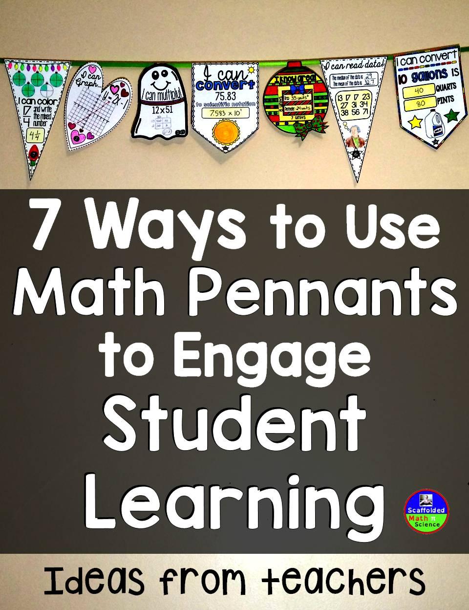 How Teachers Are Using Math Pennants