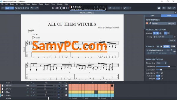 Guitar Pro Free Download Full Latest Version