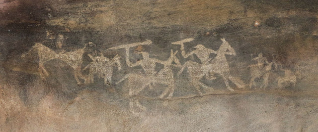 UNESCO World Heritage Sites, Bhimbetka Rock Shelters