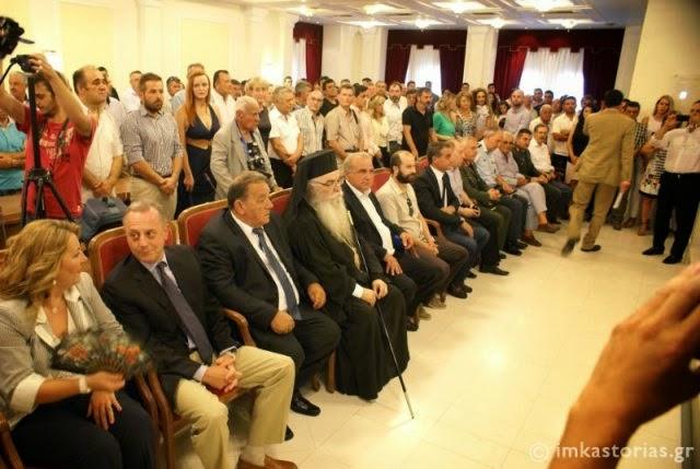 Η ορκωμοσία του νέου Δημάρχου Καστοριάς
