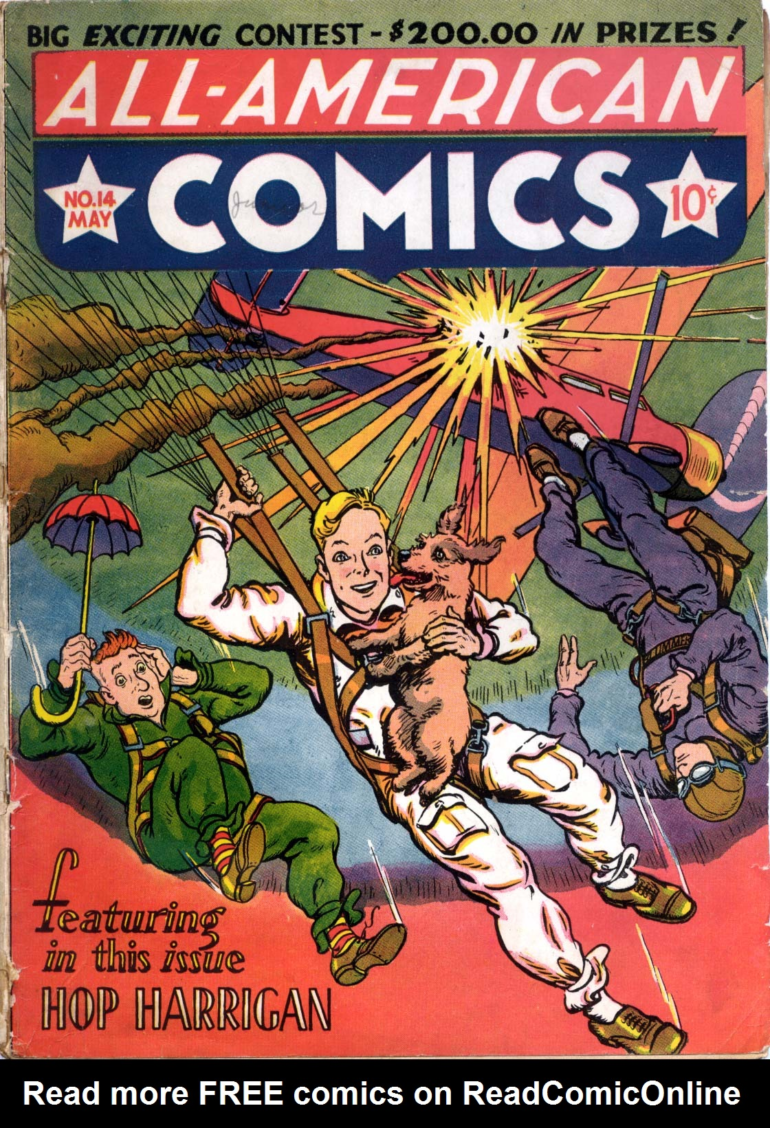 Read online All-American Comics (1939) comic -  Issue #14 - 1