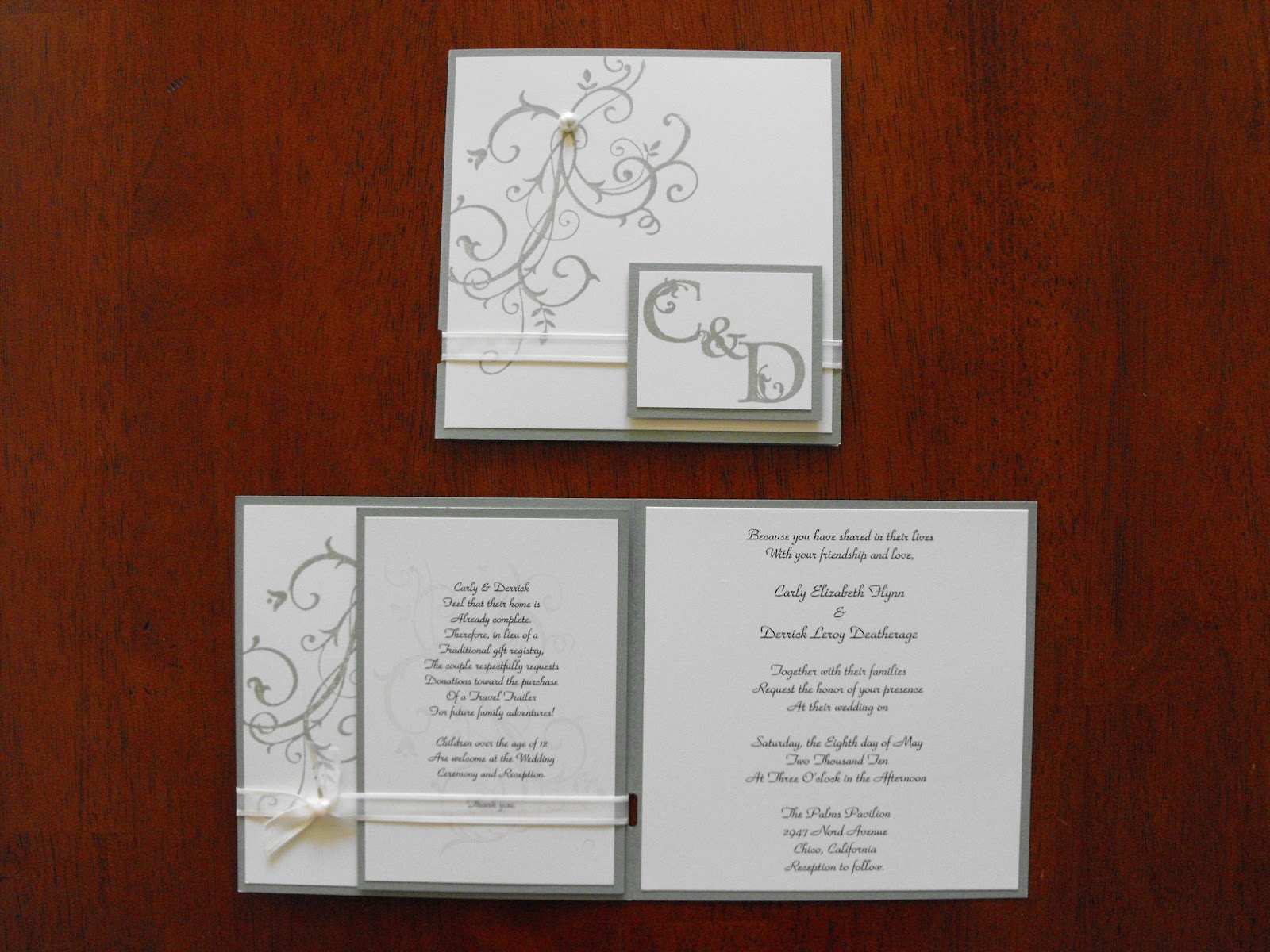 Proper Way To Stuff Wedding Invitations: Handmade Wedding Invitations : Have Your Dream Wedding