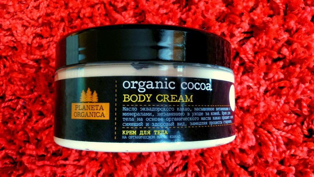planeta organica czekoladoe masło do ciała