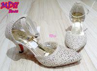 Sepatu High Heels Wanita TBP11 Emas