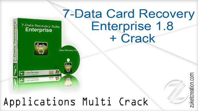 7-Data Card Recovery Enterprise 1.8 Crack