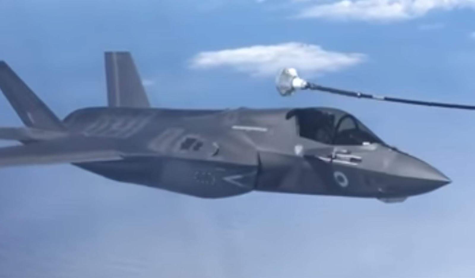 Kerusakan F-35 saat gagal mengisi bahan bakar di udara seharga dua juta dolar