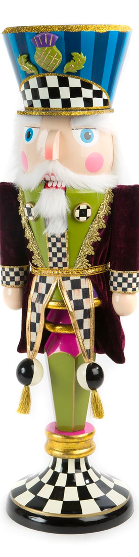 MACKENZIE-CHILDS DUKE OF THISTLE NUTCRACKER