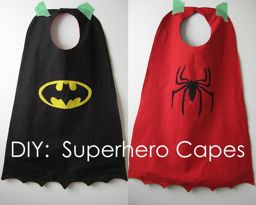 diy superhero cape template - my handmade home tutorial diy superhero capes
