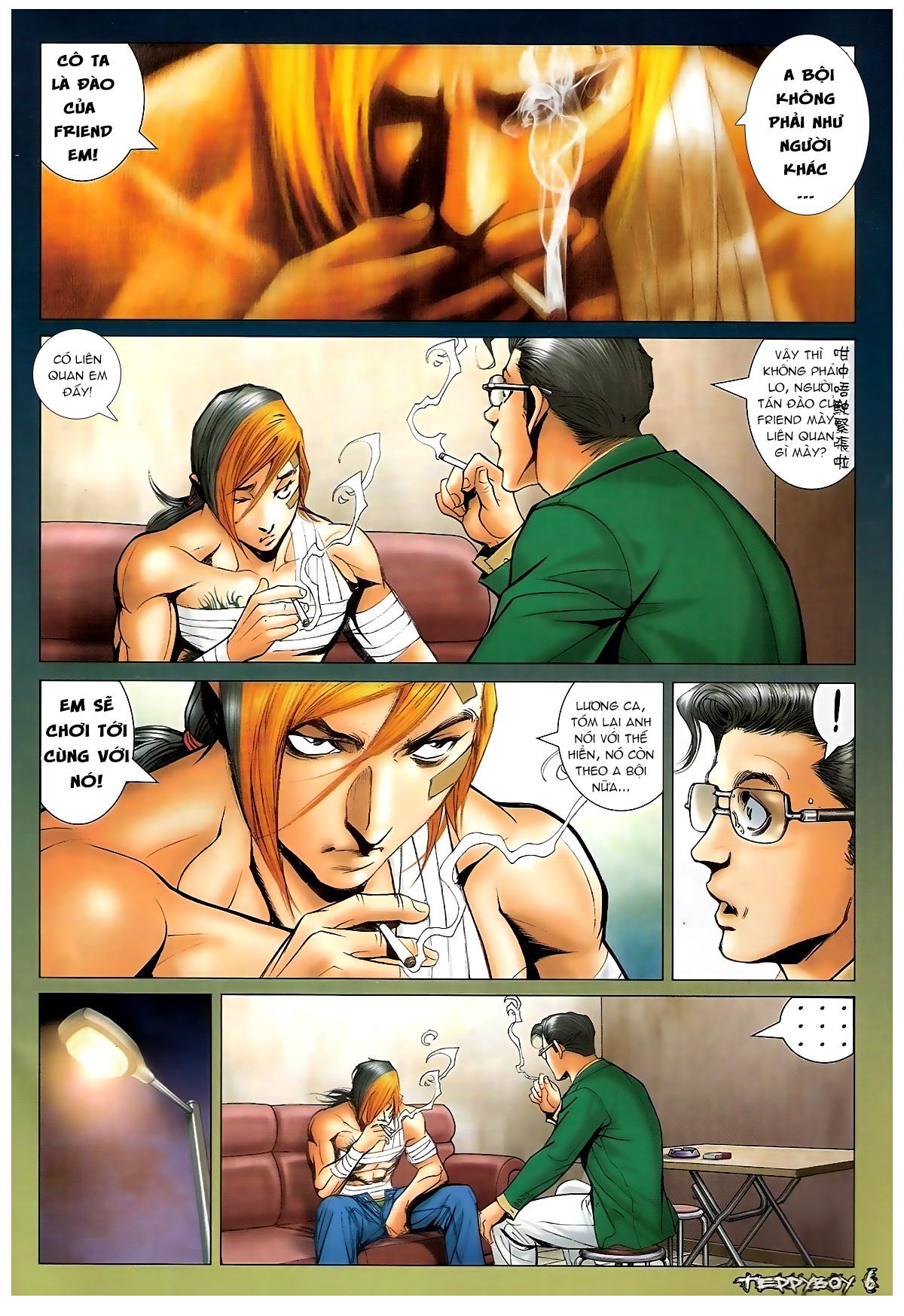 Người Trong Giang Hồ - Chapter 1372: Làm dữ - Pic 4