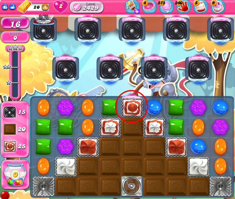 Candy Crush Saga level 2429