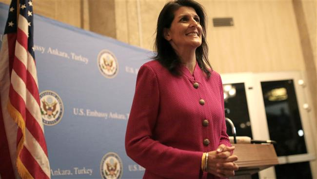 US to care about environment, Nikki Haley says, calling Paris accord just 'a club'