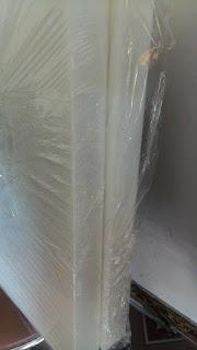 Tấm thớt nhựa pe màu trắng 50mm