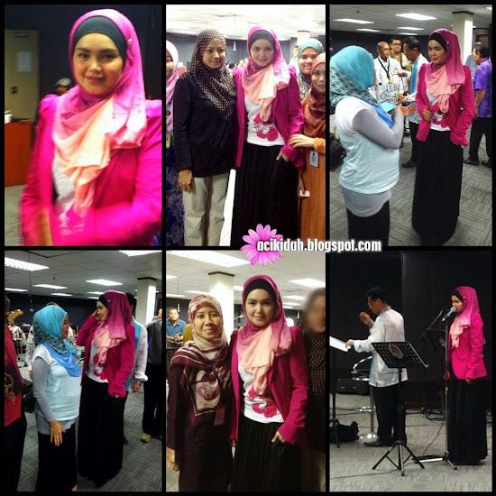 Dato Siti Nurhaliza Berlatih Di DBKL