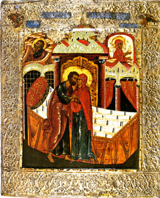 Analyzing the Icon of the Conception of the Theotokos