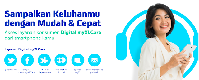 Nomor Call Center XL dan Customer Service XL