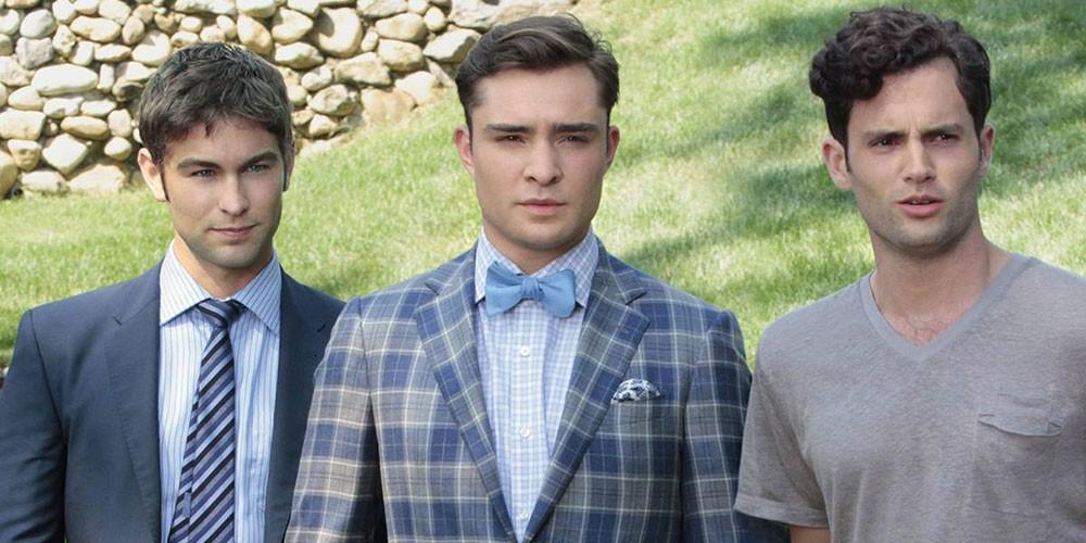 Los protagonistas masculinos de la serie: Nate, Chuck y Dan