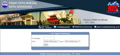 Cara Cek Tagihan PDAM Semarang Via Online