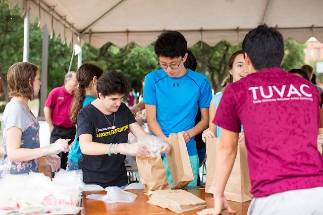 Trinity University Student Service Project