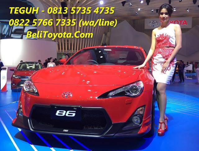 Harga Toyota, Spesifikasi, Ilustrasi Kredit Toyota FT 86 Baru di Surabaya, Jatim