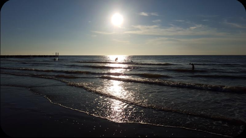Der Strand von Domburg am Abend. Domburg, Provinz Zeeland, Holland (Niederlande) | Arthurs Tochter Kocht von Astrid Paul