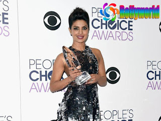 Priyanka Winning The People Choice Award