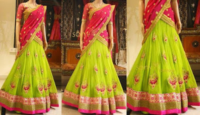 latest-lehenga-saree-indian-blouse-designs-2016-17-for-women-8