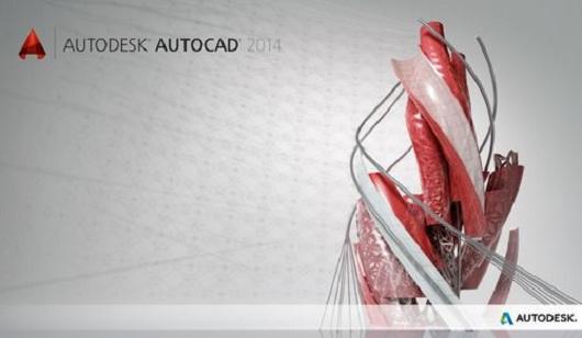 AutoDesk AutoCAD 2014 32x64Bit Tek Link Full