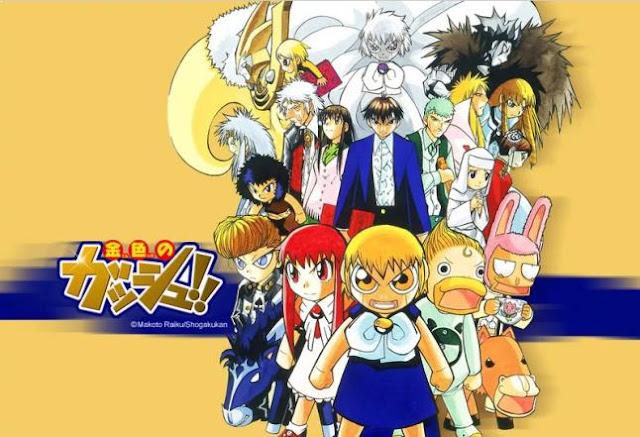 Konjiki no Gashbell - Best Anime Like Hinamatsuri (Hina Festival)