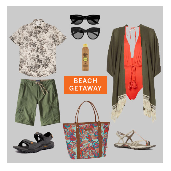 Go on a beach trip.