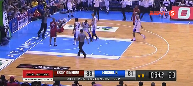Ginebra def. Magnolia, 93-86 (REPLAY VIDEO) October 28