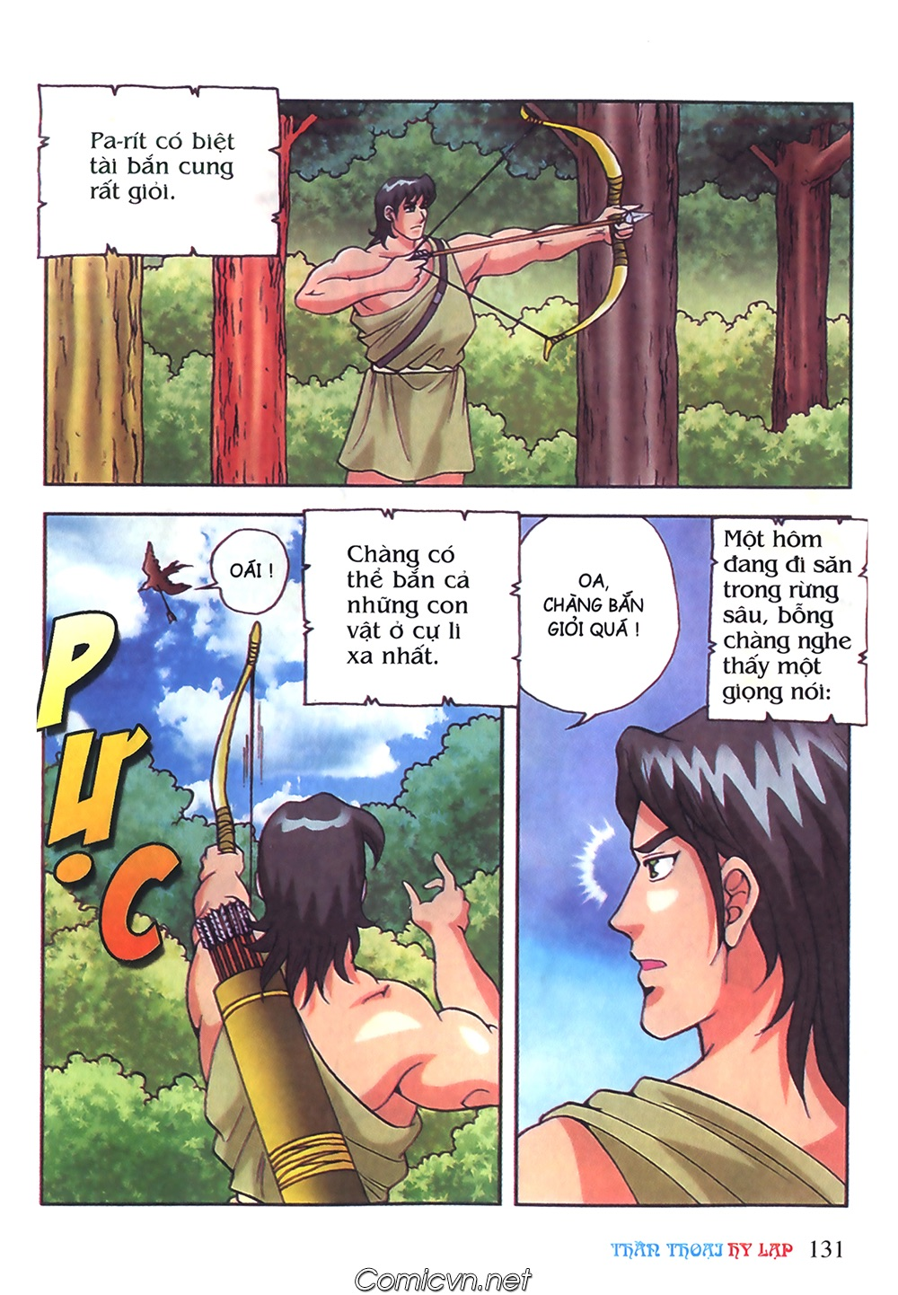 Thần Thoại Hy Lạp Màu - Chapter 50: Hoàng tử Pa rít - Pic 8