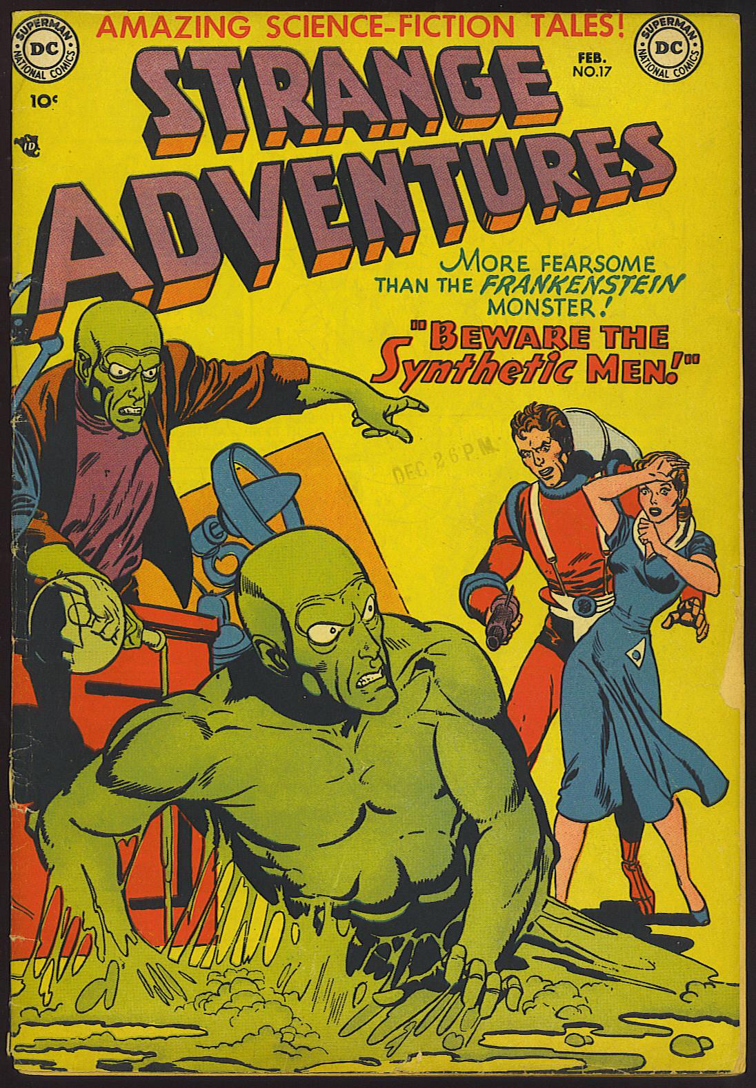 Strange Adventures (1950) 17 Page 1